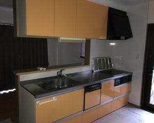 キッチン取り替え工事サムネイル